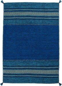 Teppich »Hambo 315«, calo-deluxe, rechteckig, Höhe 8 mm, reine Baumwollle, Wohnzimmer