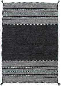 Teppich »Alhambra 335«, Kayoom, rechteckig, Höhe 8 mm, Antik-Look, reine Baumwolle, Wohnzimmer