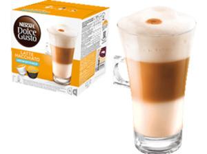 DOLCE GUSTO Latte Macchiato Ungesüsst 16 Kapseln - Kaffeekapseln