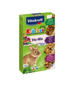 Vitakraft Kräcker Trio-Mix, Gemüse, Nuss & Waldbeere für ...