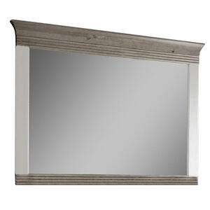 Spiegel Grau, Weiß CARRYHOME, Mehrfarbig