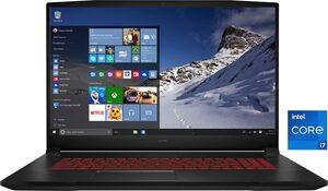 MSI GF76 11UC-083 Gaming-Notebook (43,9 cm/17,3 Zoll, Intel Core i7, 512 GB SSD)