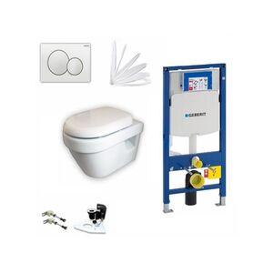 Geberit Vorwandelement + V&B Architectura + Sigma01 + WC-Sitz + Beschichtung