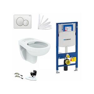 Geberit Vorwandelement + Ideal Standard Eurovit WC + Sigma01 + WC-Sitz