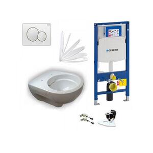 Geberit Vorwandelement + Keramag Renova Nr. 1 + Sigma01 + WC-Sitz