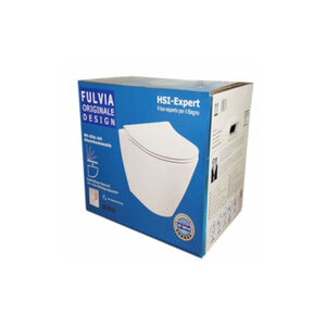 Fulvia Spülrandloses Wand-WC + Schallschutz