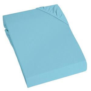 Home Ideas Living Elasthan Jersey Spannbetttuch, blau