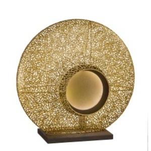 FISCHER & HONSEL LED Tischlampe MINA goldfarbig/satiniert