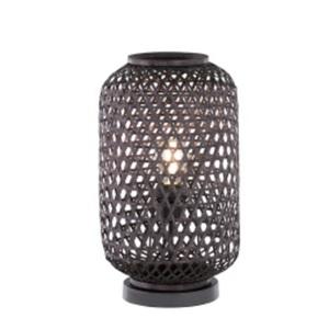 SCHÖNER WOHNEN-Kollektion Tischlampe CALLA 42 cm schwarz
