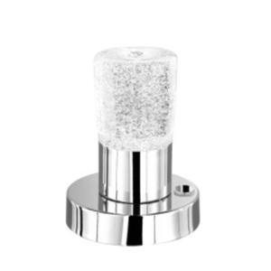 TRIO LED Tischlampe SARKLI chromfarbig
