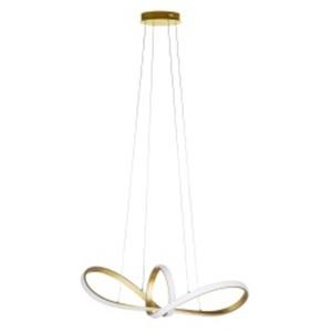 WOFI LED Pendellampe MISSONI 92 cm Metall goldfarbig