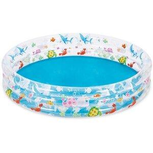 Summer Waves Bedruckter 3-Ring-Pool