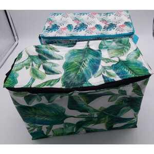 Kühltasche mit Griff, ca. 32 x 16 x 22 cm, ca. 8 Liter Füllmenge, verschiedene Motive