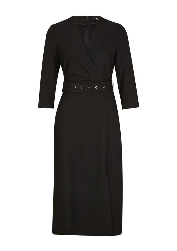 Damen Tailliertes Kleid mit Gürtel