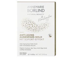 ANNEMARIE BÖRLIND ANTI-AGING AUGENPADS GOLD 6x 2 Stück