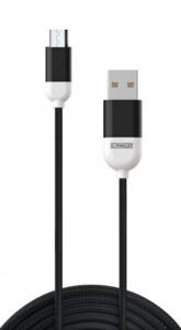 Schwaiger Micro-USB-Kabel schwarz