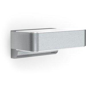 Steinel LED-Außenwandleuchte mit Bewegungsmelder L810 Silber 12 W