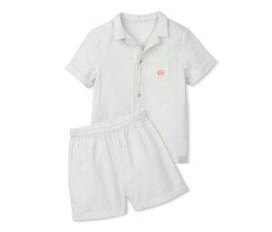 Baumwoll-Shorty-Pyjama