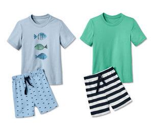 2 Baumwoll Shorty-Pyjamas