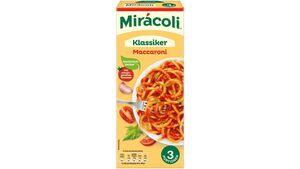 MIRACOLI Fertiggericht Makkaroni Tomate 3 Portionen 359,8g
