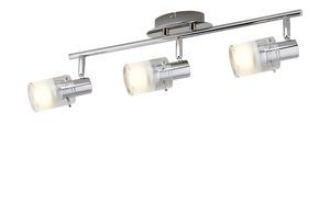 KHG LED- Deckenstrahler, 3-flammig mit Glas - silber - 50 cm - 15 cm - 13,5 cm - Lampen & Leuchten