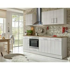 Respekta Premium Küchenzeile BERP220LHWC