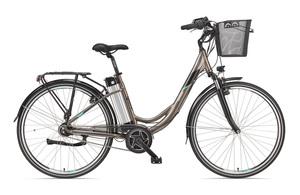 Telefunken Damen City E-Bike RC870 Multitalent mit 7-Gang Shimano Nexus Nabenschaltung Umbra-Light-M