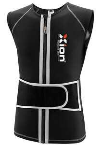 XION Freeride Viper1 - Rückenprotektor für Herren - Schwarz
