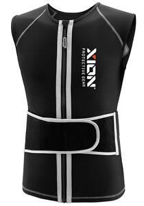 XION Freeride Vest V1 - Rückenprotektor für Herren - Schwarz