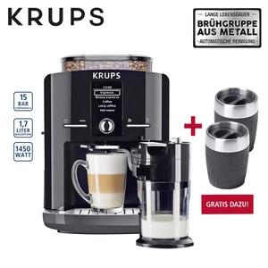 Kaffee-Vollautomat One Touch Cappuccino Latte Espresso EA8298.TC • autom. MilchsystemReinigungsprogramm • abnehmbarer Milchbehälter • Claris-AquaFiltersystem Beim Kauf von Kaffee-Vollautom
