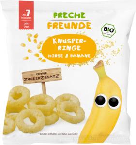 erdbär Bio Knusper-Ringe Hirse & Banane