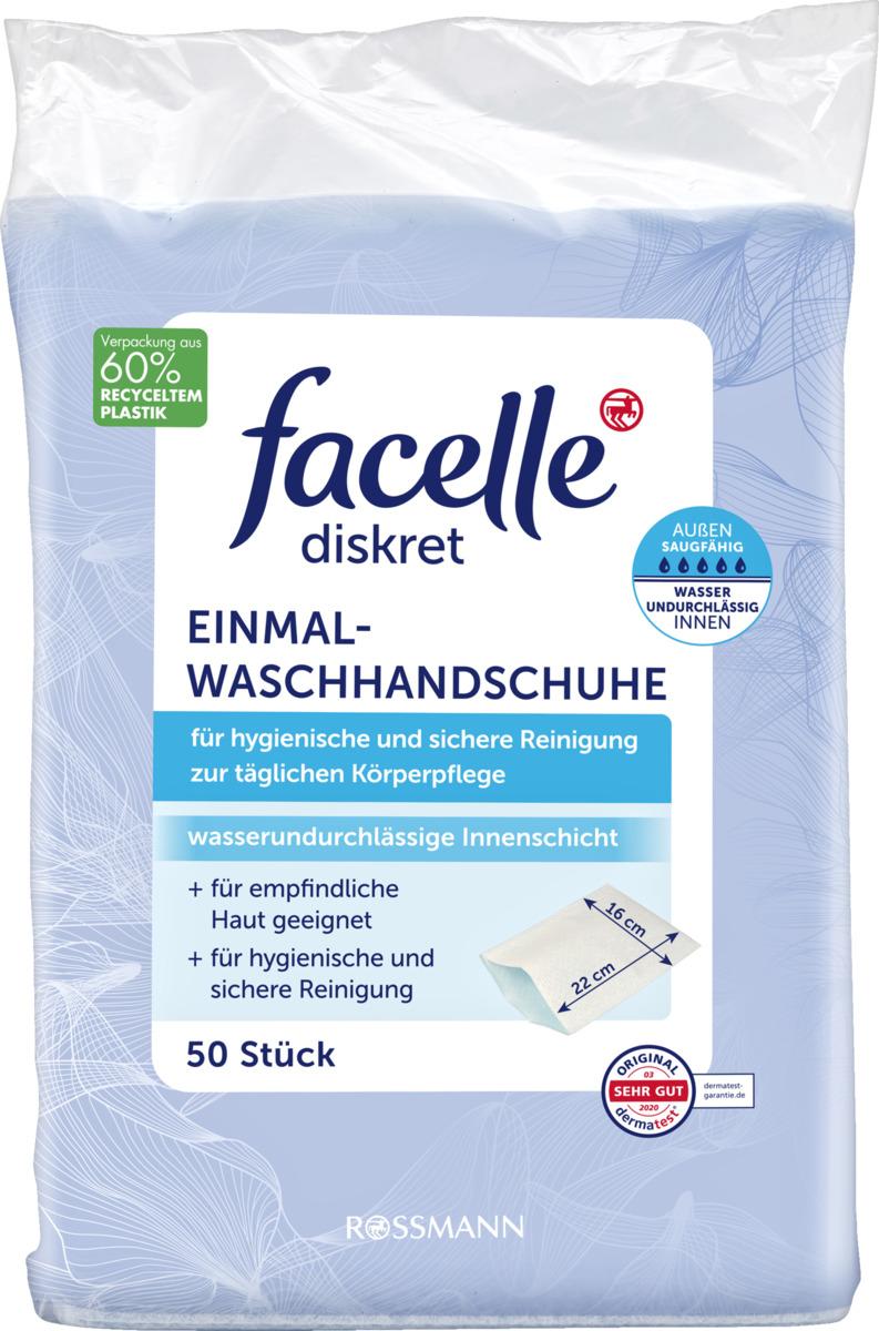 Bild 1 von facelle diskret Einmalwaschhandschuhe
