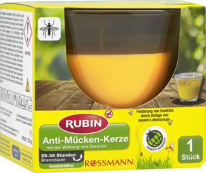RUBIN Anti-Mücken-Kerze