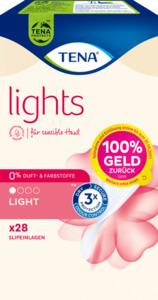 TENA lights Slipeinlagen light