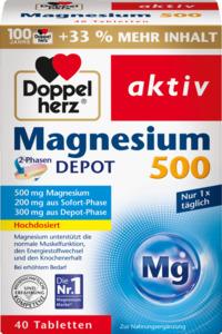 Doppelherz Magnesium 500 2-Phasen Depot Tabletten