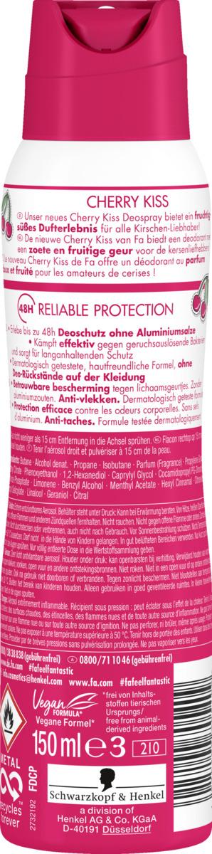 Bild 2 von Fa Deodorant Spray Cherry Kiss Limited Edition