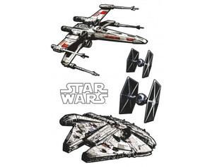 Dekosticker Star Wars Spaceships ca. 100 x 70 cm