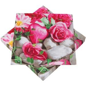 Servietten 20 Stück mit Motiv Rosen