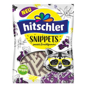 Hitschler Fruchtgummi Bänder Snippets Racoon Edition 125 g