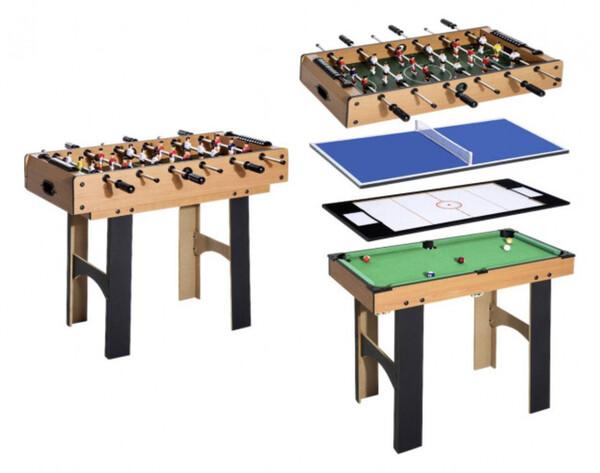 HOMCOM Multi Spieltisch 4in1