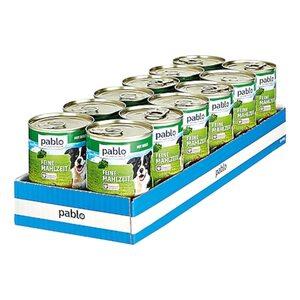 Pablo Hundenahrung Wild 400 g, 12er Pack
