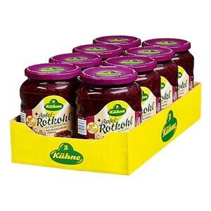 Kühne Apfelrotkohl 650 g Abtropfgewicht, 8er Pack
