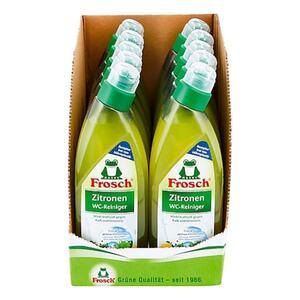Frosch WC-Reiniger Zitrone 750 ml, 10er Pack