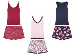 ESMARA® Shorty Pyjama Damen, mit  Bio-Baumwolle
