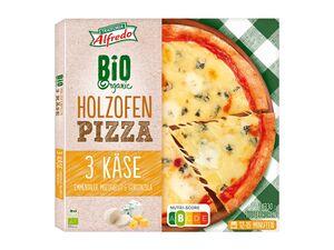 Trattoria Alfredo Bio Holzofenpizza 3 Käse