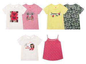 LUPILU® Kleinkinder T-Shirts Mädchen, 2 Stück