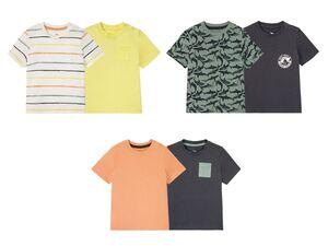 LUPILU® Kleinkinder T-Shirts Jungen, 2 Stück