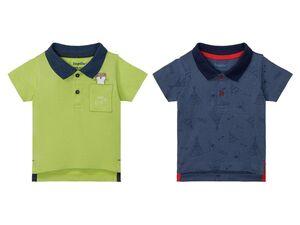 LUPILU® Baby Poloshirt Jungen, mit Knopfleiste