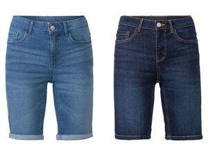 ESMARA® Jeans Bermuda Damen, im 5-Pocket-Style