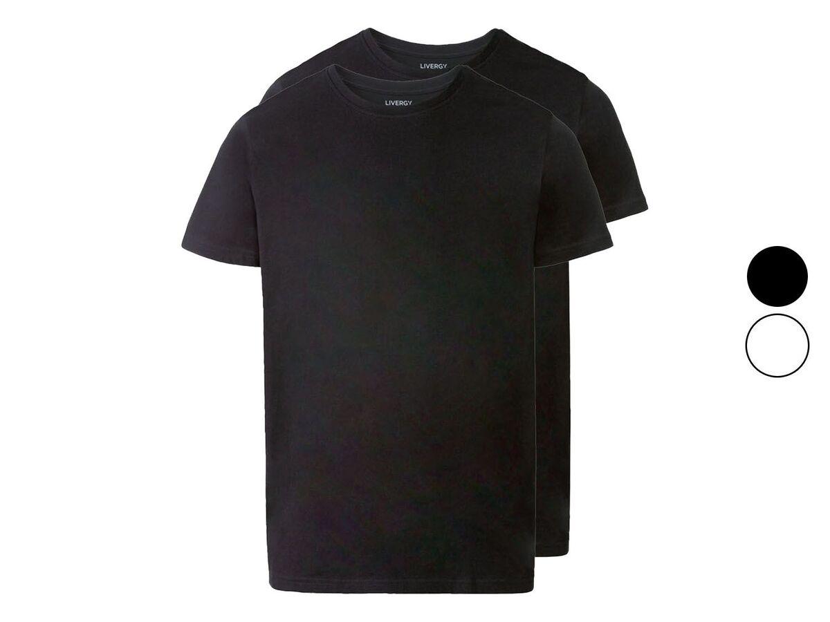 Bild 1 von LIVERGY® T-Shirts Herren, 2 Stück, körpernah geschnitten